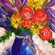 Wendy's Floral Art Print