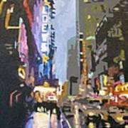 West 42nd Street Art Print