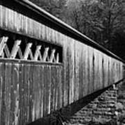 West Dummerston Covered Bridge Print by Luke Moore