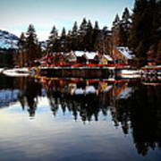 West End Of Donner Lake Art Print