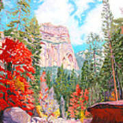 West Fork - Sedona Art Print by Steve Simon