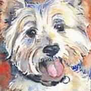 West Highland Terrier Art Print