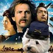 West Highland White Terrier Art Canvas Print - Dances With Wolves Movie Poster Art Print