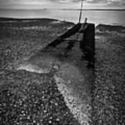 West Mersea Sea View Art Print