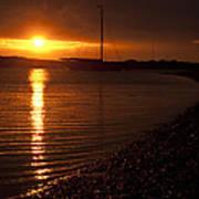 West Mersea Sunset Art Print