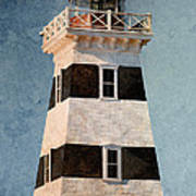 West Point Lighthouse 7 Art Print