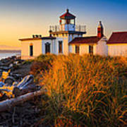 West Point Lighthouse Art Print