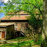West Point Mill House Art Print