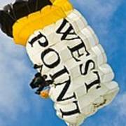 West Point Sky Diver Art Print