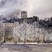 West Point Winter Art Print by Sandra Strohschein