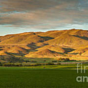 West Side Of Squaw Butte Art Print