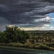 West Texas Storm Art Print