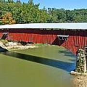 West Union Covered Bridge 2 Art Print