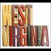 West Virginia Art Print