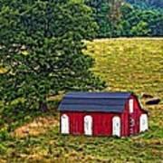 West Virginia Oil Art Print