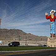 West Wendover Nevada Art Print by Frank Romeo