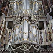 Westerkerk Organ In Amsterdam Art Print