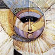 Western Solarmask Art Print