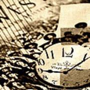 Western Time Art Print
