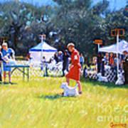 Westies Show Art Print