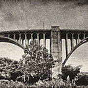 Westinghouse Bridge Pano Art Print