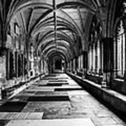 Westminister Abbey Cloister Art Print