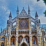 Westminster Abbey - North Transept Art Print by Skye Ryan-Evans