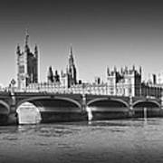 Westminster Bridge Art Print