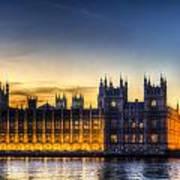 Westminster London Art Print