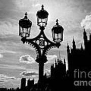 Westminster Silhouette Art Print