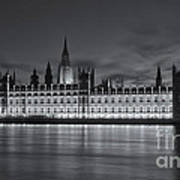 Westminster Twilight Iv Art Print