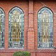 Westminster Windows Art Print
