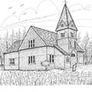 Westmore Community Church Art Print