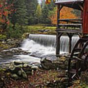 Weston Grist Mill Art Print