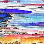 Westward Ho Shore Art Print by Anthony Fox