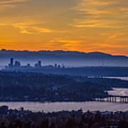 Gateway To Seattle Art Print
