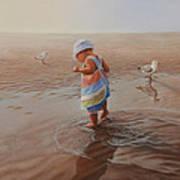 Wet Feet Art Print
