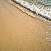 Wet Sand Art Print