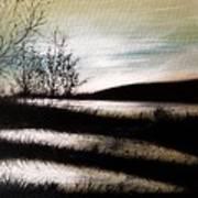 Wetland Visit Art Print