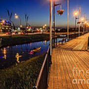 Embankment Of Weyburn Art Print