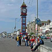 Weymouth Esplanade Art Print