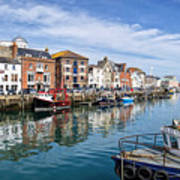 Weymouth Harbour Art Print