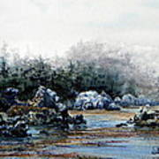 Whalers Cove Art Print