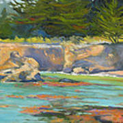 Whalers Cove Point Lobos Art Print by Rhett Regina Owings