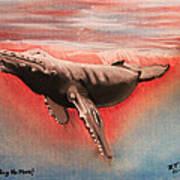Whaling No More Art Print