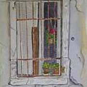 What's Behind The Window Art Print
