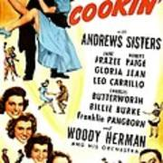 Whats Cookin, Us Poster, Top From Left Art Print