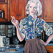 What's For Dinner? Art Print by Tom Roderick