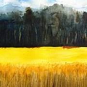 Wheat Field 1 Art Print