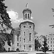 Wheaton College Blanchard Hall Print by University Icons
